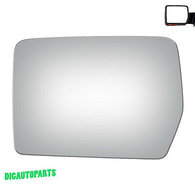 Replacement Mirror Glass for 04-10 Ford F-150 Pickup Truck Driver Left Side LH Ford F150 Mirror Lh Driver