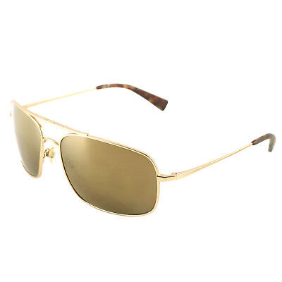 7 For All Mankind Brentwood 60-16-135 Gold and Red Sunglasses w/ Mirrored (All Gold Sunglasses)