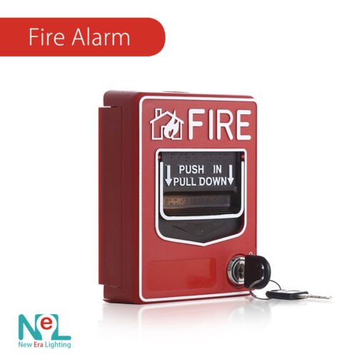 Fire Alarm Dual Action Manual Call Point Wired Emergency Pull Station