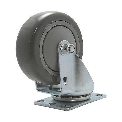 Caster 4 Inch Industrial Polyurethane Swivel 375 Lb