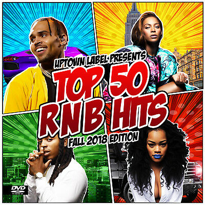 RnB R&B Music Videos on DVD Fall 2018 Top 50 Drake, Chris Brown, Ella Mai, 6LACK