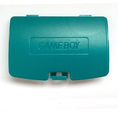 (New TEAL Battery Cover for Game Boy Color System - GBC Replacement Door)