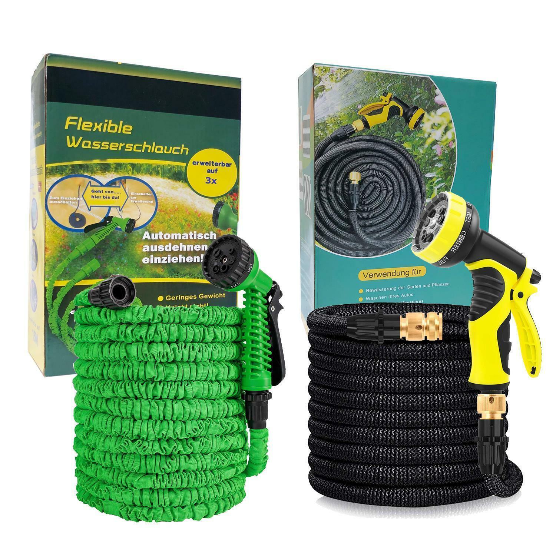 Premium Gartenschlauch Flexibler Wasserschlauch dehnbarer Flexischlauch Wonder ⭕