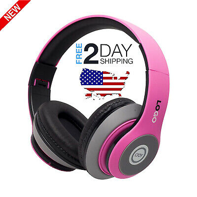 NEW Wireless Bluetooth Headphones Rechargeable Foldable Over