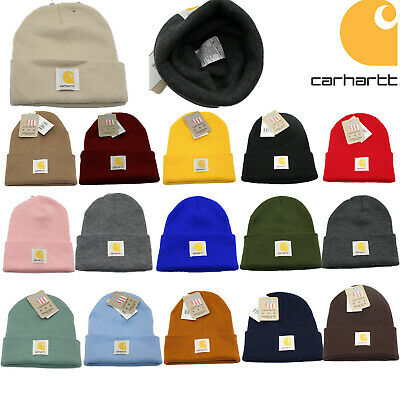 New Original Women Men Carhartt Acrylic Watch Hat A18 Beanie Winter Warm Hat Cap