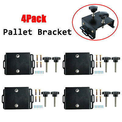 Pallet Bracket Silk Screen Printing Press Platen Bracket Diy Mounting Tool 4pcs