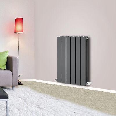 Anthracite Horizontal Designer Flat Panel Radiators Central Heating 600x408mm