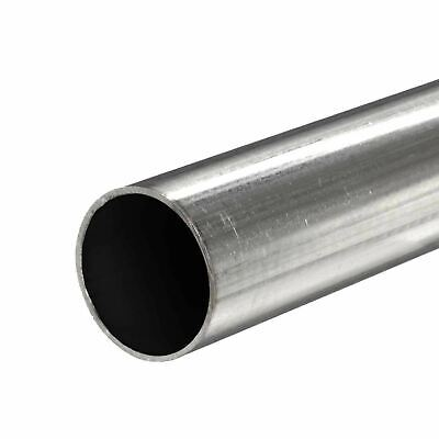 409 Stainless Steel Round Tube 3 Od X 0.075 Wall X 36 Long