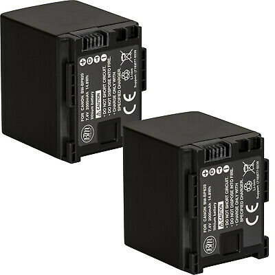 BM 2X BP-820 Batteries for Canon Vixia HFM301, HFM40, HFM41, HFM400, HFS30, XA10