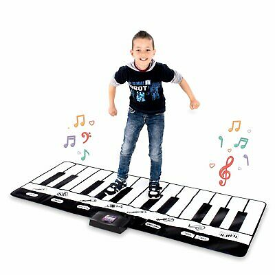Giant Musical Piano Play Mat – Jumbo Sized Floor Keyboard-Play, Record, Playback](Giant Floor Keyboard)
