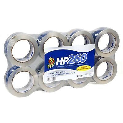 Duck Brand Hp260 3.1 Tape Mil Packaging 1.88x60yard Roll 6-pack 2 Bonus Rolls