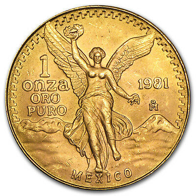 Mexico 1 oz Gold Onza &/or Libertad BU (Random Year) - SKU #25504