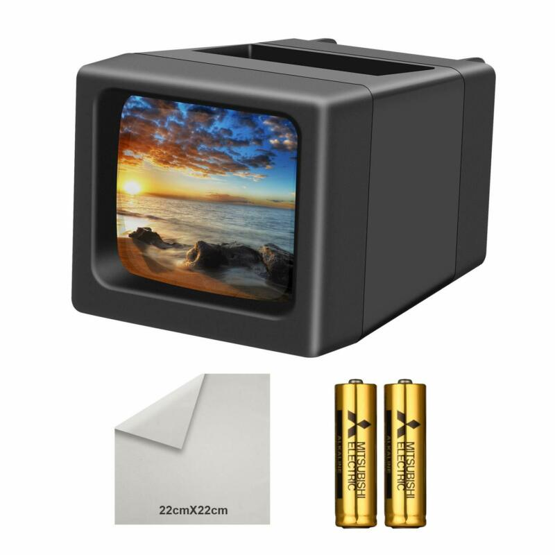 Lightweight  LED Lighted Illuminated 35mm Slide Viewer Use in Studio or at Home