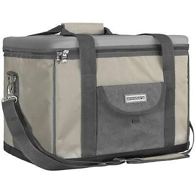 anndora Kühltasche 40 L champagner-grau Kühlbox Picknicktasche Isoliertasche