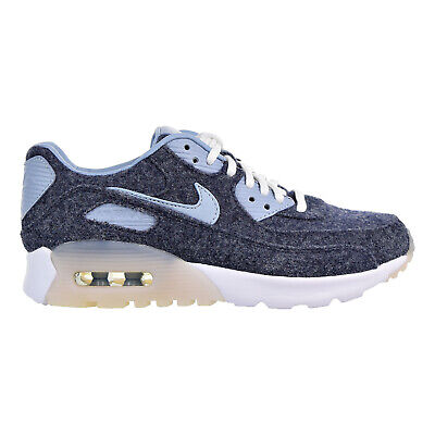 Nike Air Max 90 Ultra PRM Women's Shoes Midnight Navy-Blue-Grey