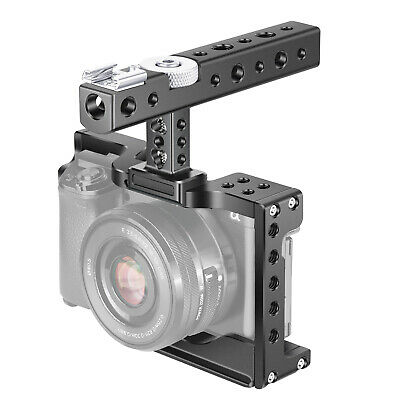 Neewer Camera Cage Video Rig for Sony Alpha A6600/ILCE 6600 Mirrorless Camera