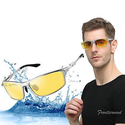 0d74071bb52 Night Driving Glasses HD Polarized Lens Retro Wayfare Sunglasses for Men