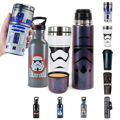 Star Wars Thermobecher Trinkflasche Isolierbecher Starwars R2-D2 Darth Vader (Star Wars Becher)