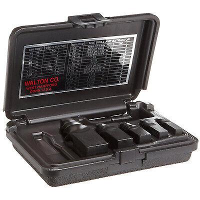 Walton 50205 5 Piece Pipe (NPT) Stud & Screw Extractor Set
