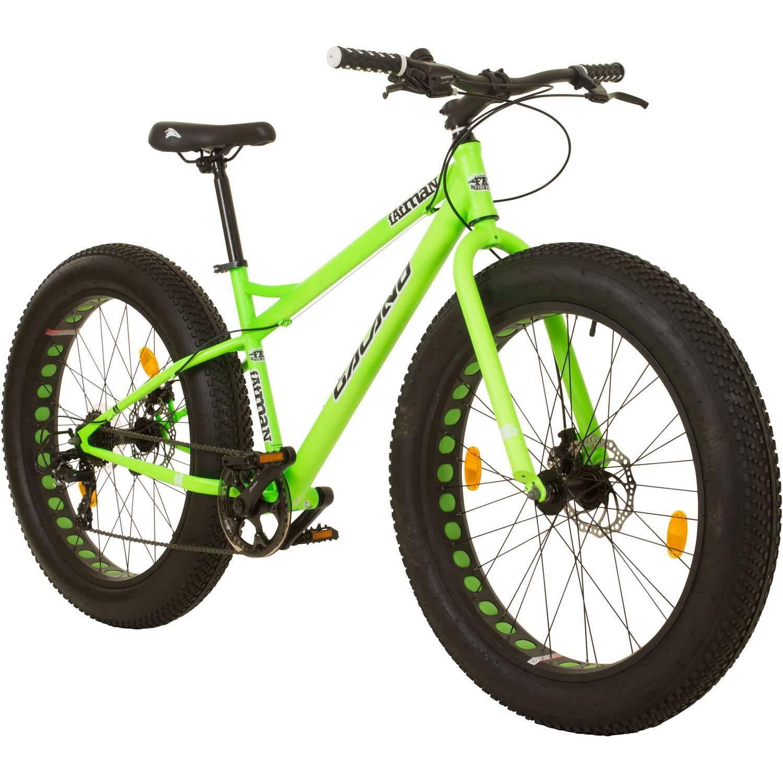 Fatbike 26 Zoll Mountainbike MTB Galano Fatman Hardtail 4.0 fette Reifen Fahrrad