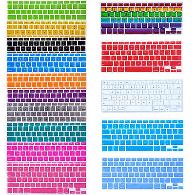 """Silicone Keyboard Skin Cover Film For Apple Macbook Pro  13"""" 15"""" 17"""" inch _ US"""