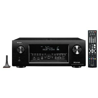 Denon AVR-X4000 7.2-Channel 4K Ultra HD Network Home Theater AV Receiver AirPlay