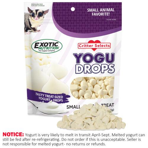 Yogu Drops Treat (5.5 oz) - Healthy Treat - Sugar Glider, Hamster, Rabbit, Rat