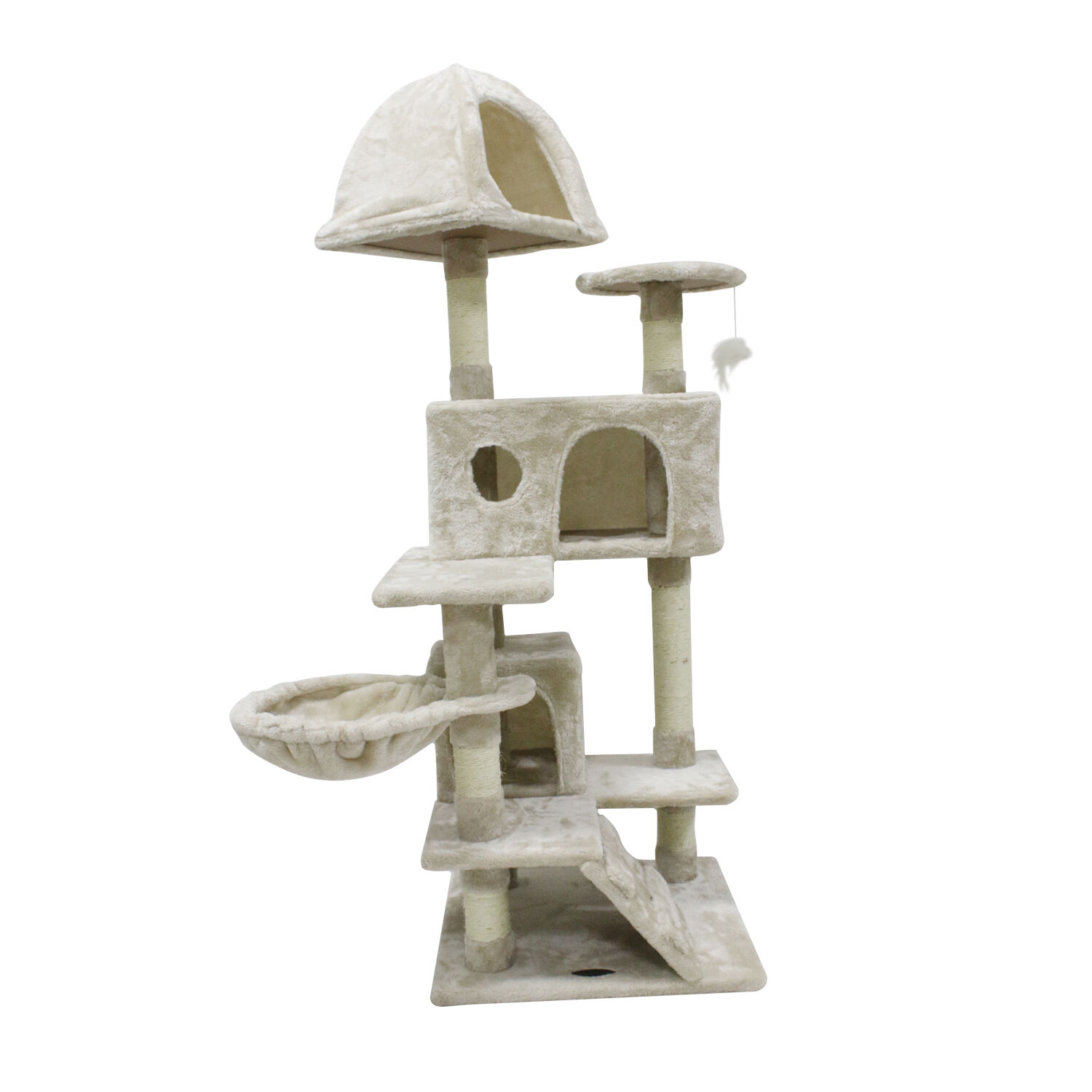 how to make a cat scratching tower