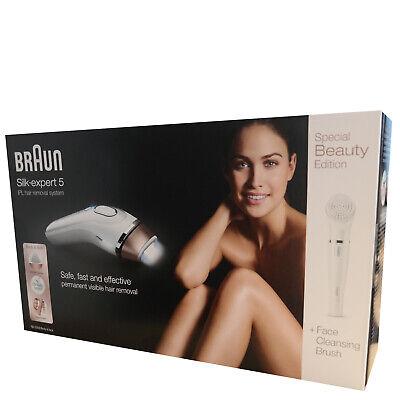 Braun Silk-expert BD5008 IPL 300.000 Haarentfernungssystem mit Gesichtsbürste