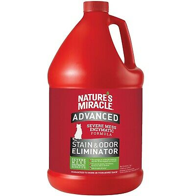 Nature's Miracle Advance Cat Stain and Odor Eliminator Gallo