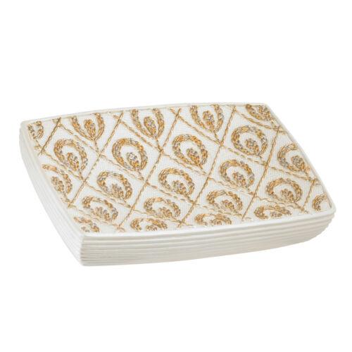 Soap Holder Dish Beige/Gold Popular Bath Seraphina Bathroom Bath