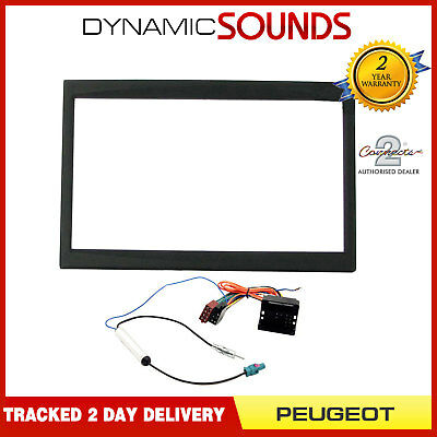 Car Stereo Fascia Replacement Fitting Kit, Wiring Harness For Peugeot 207 307