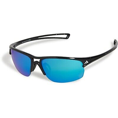 adidas Raylor 2 S Non-Polarized Iridium Oval Sunglasses, Shiny Black A405-6101 (Sunglasses Adidas)