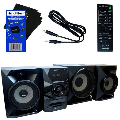 Sony 700W Wireless Music System Black MHCECL99BT