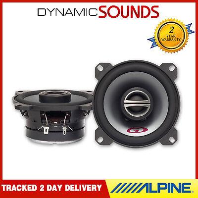 """Alpine SPG-10C2 4"""" (10cm) Coaxial 2-Way Car Speakers 180W"""