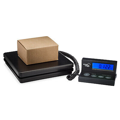 Smart Weigh Digital Shipping Postal Scale 110lbs X 0.1oz Lcd Screen Ac Adapter