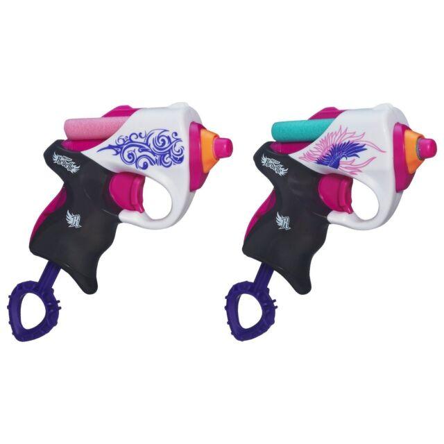 Brand New NERF Rebelle POWER PAIR Dart BLASTER Mini
