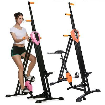 Maxi Climber Vertical Stepper 2 in 1 Exercise Fitness with Monitor Manual -