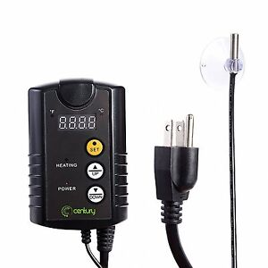 Century Digital Temperature Controller Thermostat Outlet for Heat Mat Seed 110V