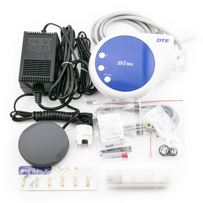 100% Woodpecker Dental Lab DTE Ultrasonic Piezo Scaler D5 LED Handpiece SATELEC 2