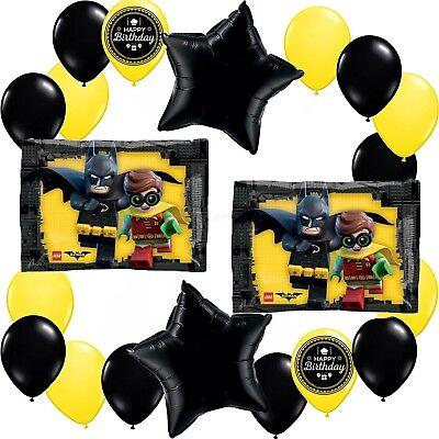 LEGO Batman Movie Deluxe Balloon Decorating Bundle AMZKIT711](Lego Balloons)