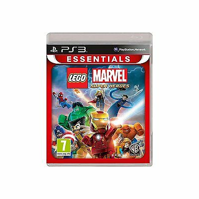 Lego Marvel Super Heroes Essentials (PS3) Neuf Scellé