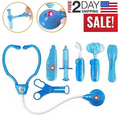 Toddler Boy Toy Medical Kit Doctor Pretend Play Set Girl Development Kids Game - Toy Doctor Kit