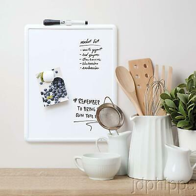 U Brands Contempo Magnetic Dry Erase Board 11 X 14 Inches White Frame New