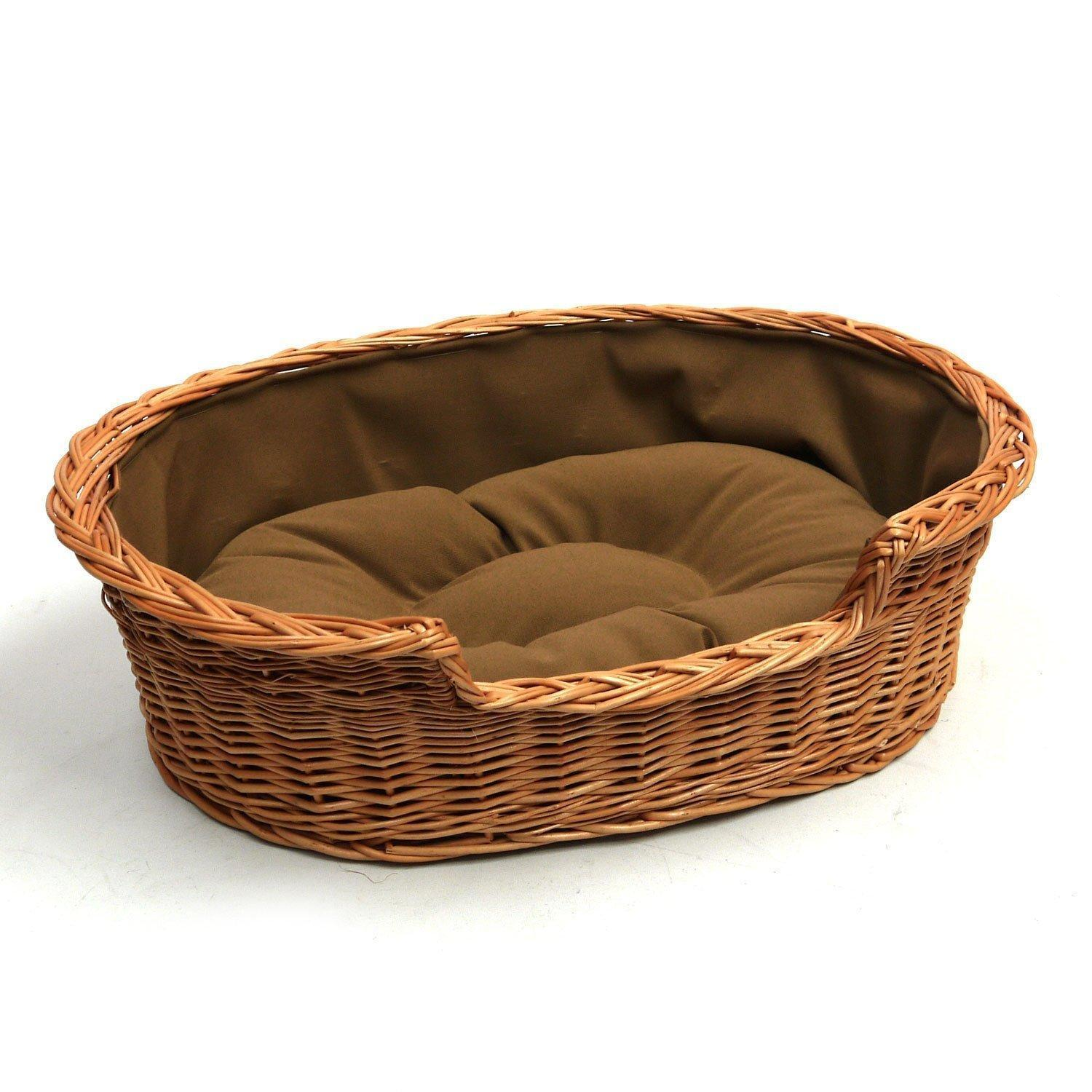 Wicker Dog Bed Extra Large