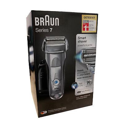 Braun Series 7 7899cc elektrischer Rasierer Reinigungsstation Wet&Dry -NEUWARE-