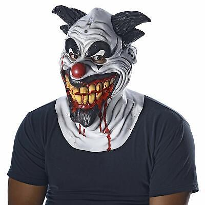 Smiley Mask Clown Circus Carnival Fancy Dress Halloween Adult Costume Accessory](Smiley Mask Halloween)