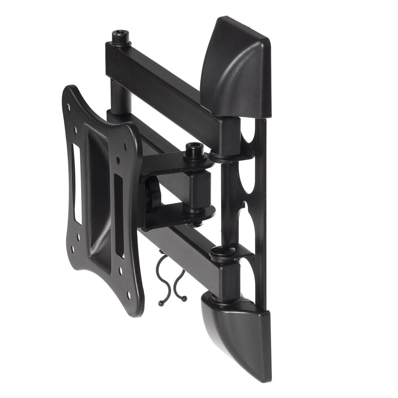 tv wandhalterung lcd led plasma fernseher halterung neigbar schwenkbar maclean eur 13 49. Black Bedroom Furniture Sets. Home Design Ideas