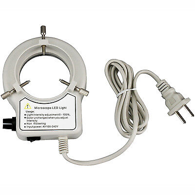 56 LED Reinforced Microscope Ring Light with Dimmer on Rummage