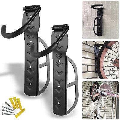 2 Fahrradwandhalter Fahrradhaken Wandhalter Wandhalterung Fahrradaufhängung 30KG